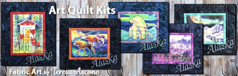 Alaska Quilt Kits featuring Treresa Ascone Art