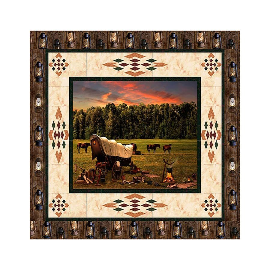 Trails End Wall Hanging Pattern
