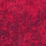 Bali Batik Floral Leaf Red Velvet R2323-568