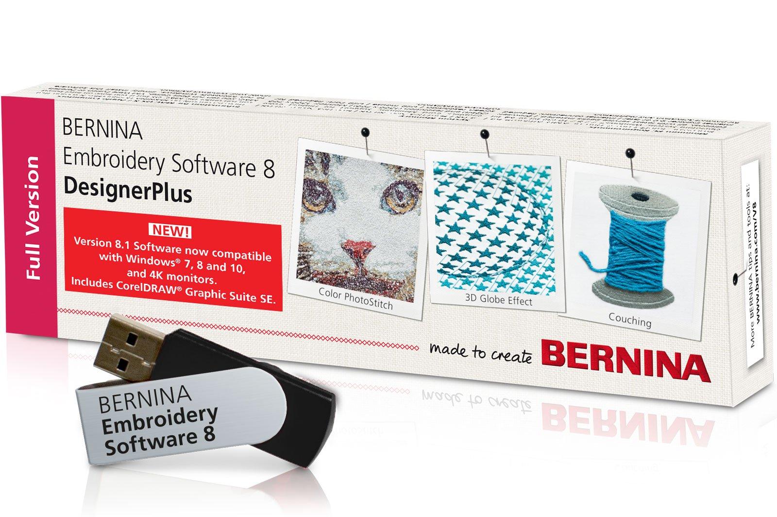 BERNINA Embroidery Software 8.2