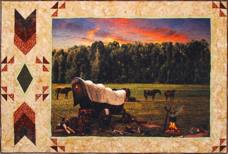 Wagons West Quilt Kit