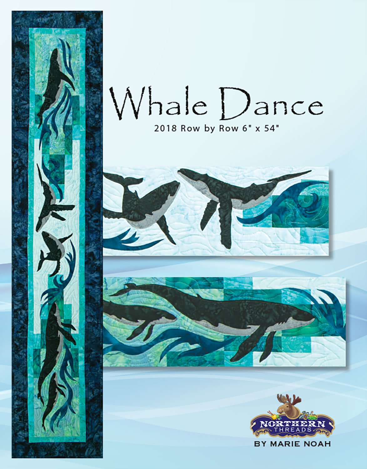 Whale Dance Pattern Row by Row 2018