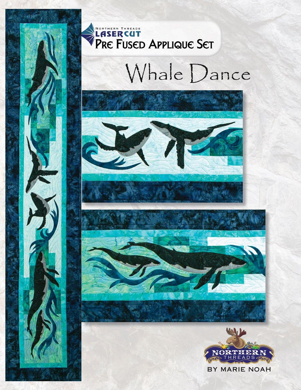 Whale Dance Applique Set