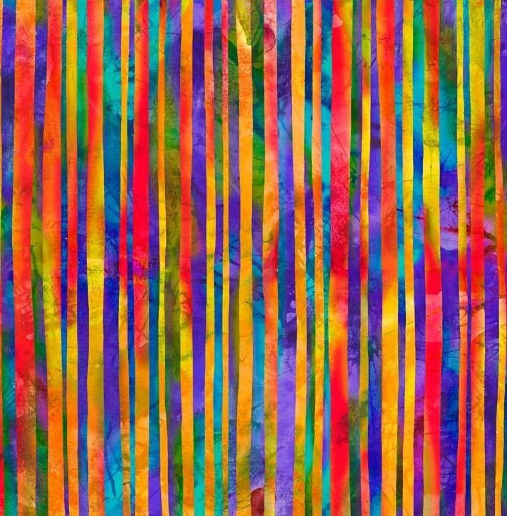 Wild Birds Digital Stripe WILB04009MU Multi