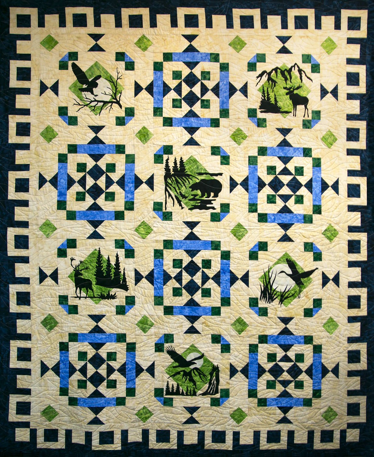 Wildwood Laser Cut Quilt Kit