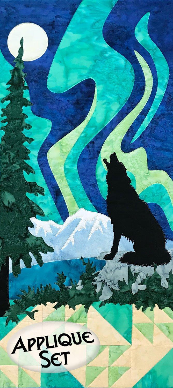Moonlight Serenade Wilderness Ridge Applique Set
