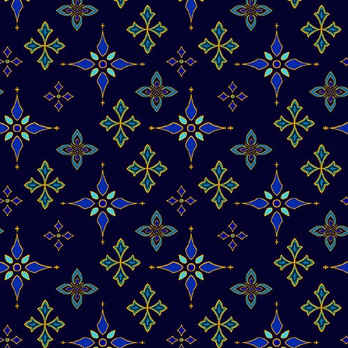 Silent Night Foulard Stars