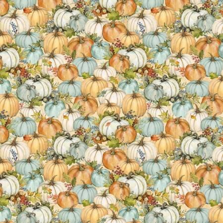 Seeds of Gratitude - Tan Packed Pumpkins