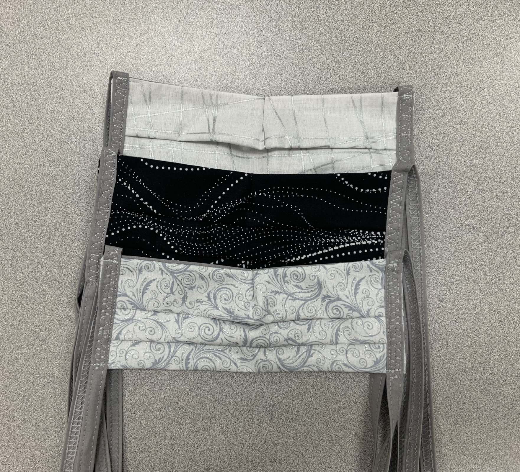 Black and White Mask Trio Kit