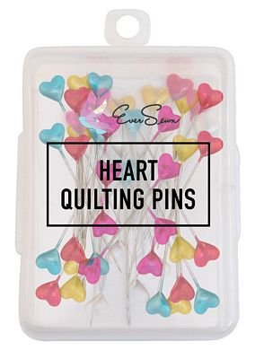 Heart Quilting Pins