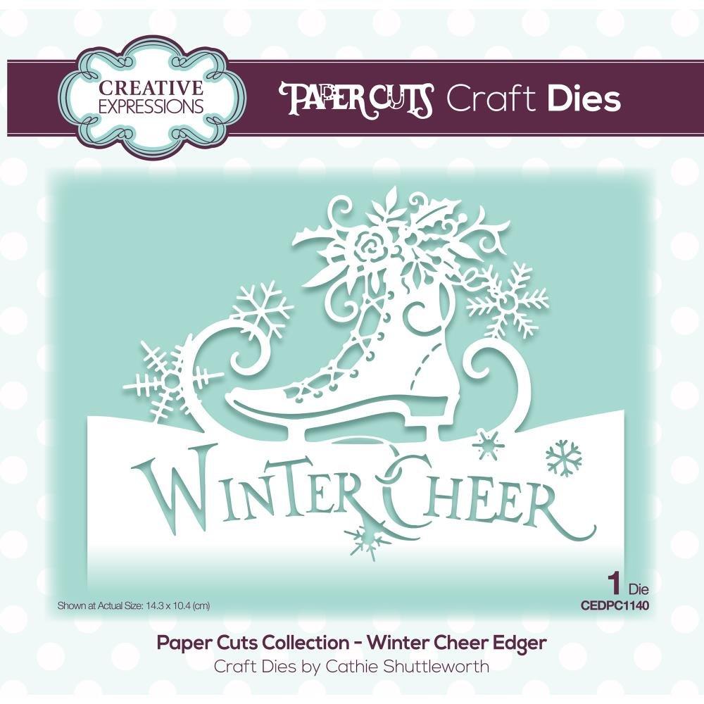 Creative Expressions - Paper Cuts Edger Craft Dies - Winter Wonderland