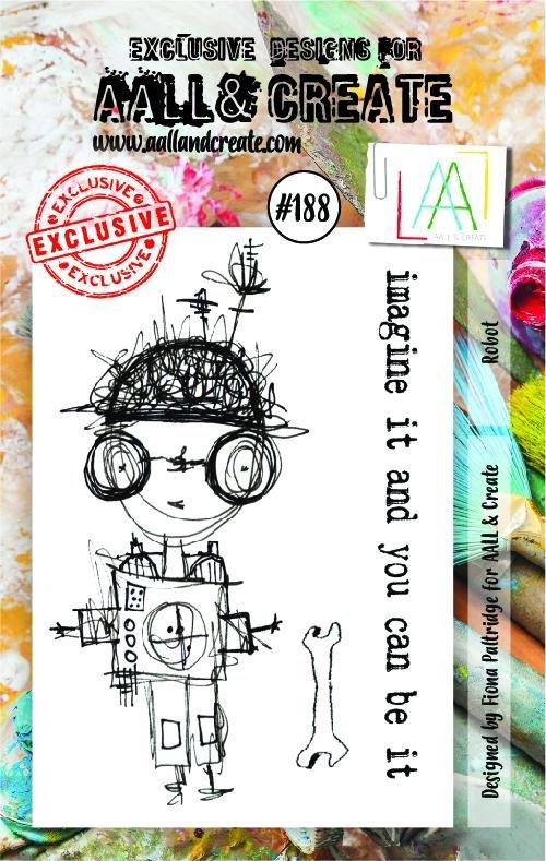 AALL & Create - #188 Stamp Set A7