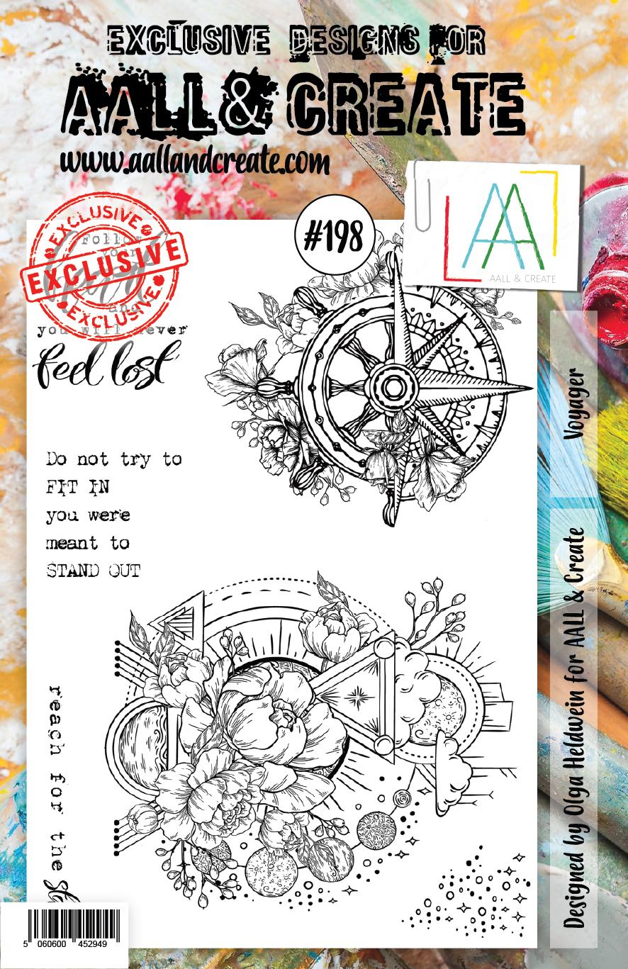 AALL & Create - # 198 Stamp Set A5
