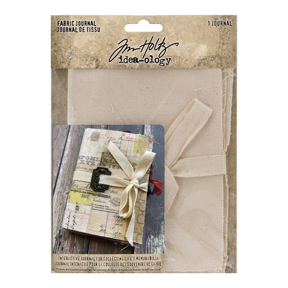 Tim Holtz - Idea-Ology - Fabric Journal 4X6-