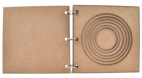 Joggles - 6 x 6 Tunnel Book - Circle  Tunnel