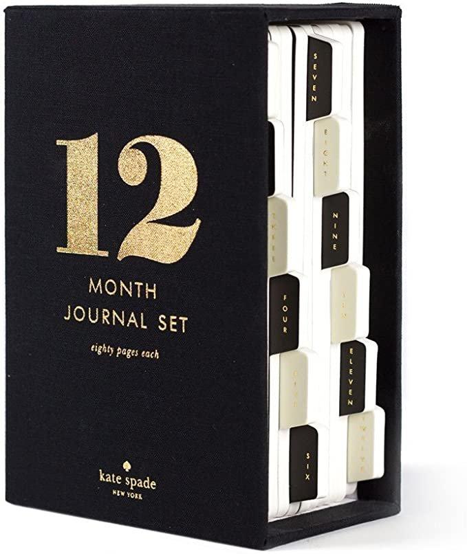 Kate Spade - 12 Month Journal Set
