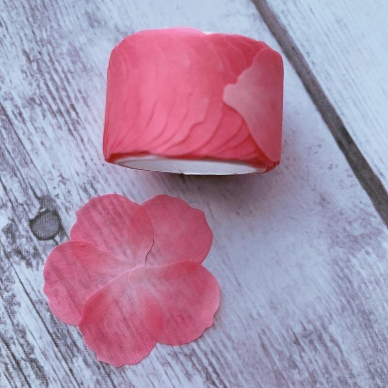 The Washi Tape Shop - Dark Pink 5 Petal Flower