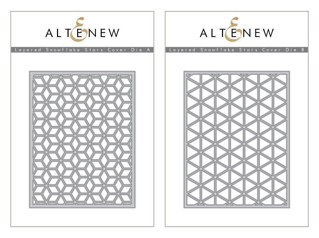 Altenew - Layered Snowflake Cover Die Bundle