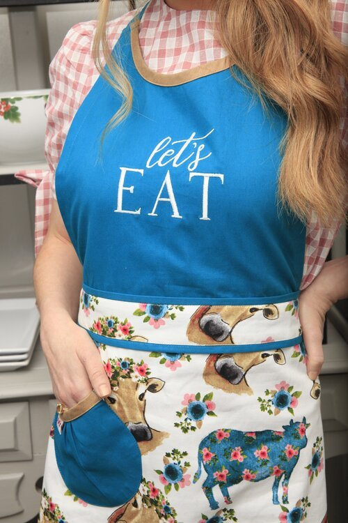 Simply Whimsical - Let's Eat Apron