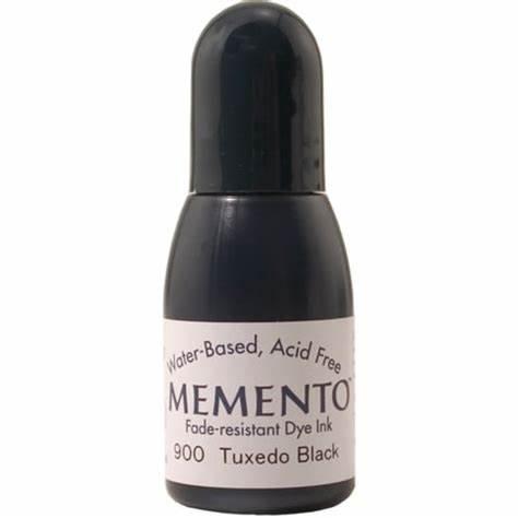 Memento Re-Inker - Tuxedo Black