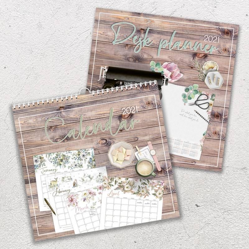 P13 - Calendar + Desk Planner 2021