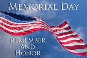 Memorial Day - American Flag