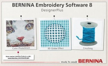 BERNINA Embroidery Software V8 Designer Plus