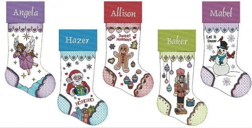 Claudia Dinnell's Christmas Stockings