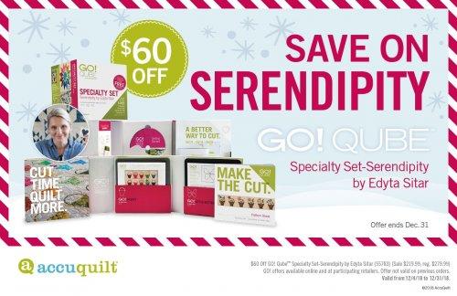 $60 Off Serendipity by Edyta Sitar