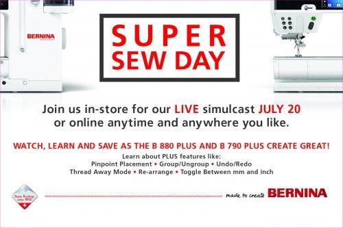 Super Sew Day