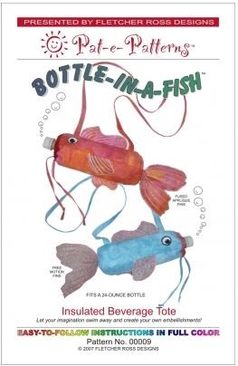 PEP00009 Pat-e-Patterns Bottle in a Fish