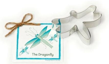 01-027 Ann Clark, Dragonfly Cookie Cutter, Made in the USA