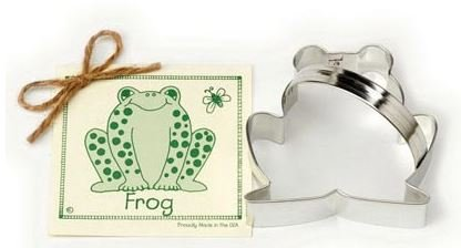 01-033 Ann Clark, Frog Cookie Cutter, Made in the USA