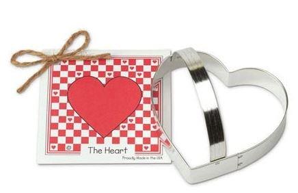 01-039 Ann Clark Heart Cookie Cutter Made in the USA