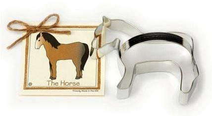 01-043 Ann Clark, Horse Cookie Cutter, Made in the USA