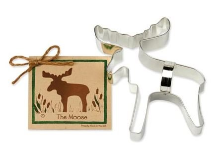 01-051 Ann Clark, Moose Cookie Cutter, Made in the USA