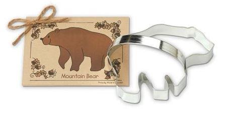 01-052 Ann Clark, Bear Cookie Cutter, Made in the USA