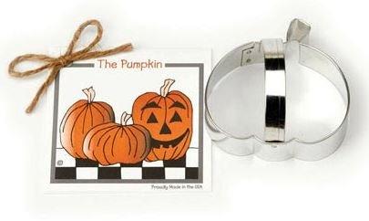 01-055 Ann Clark, Pumpkin Cookie Cutter, Made in the USA