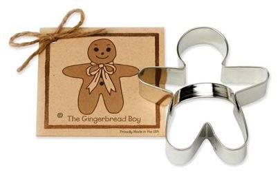 01-070 Ann Clark, Gingerbread Boy Cookie Cutter, Made in the USA