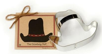 01-098 Ann Clark Cowboy Hat Cookie Cutter Made in the USA