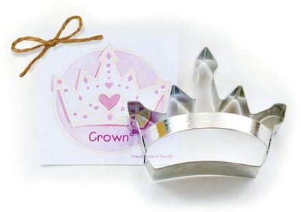 01-108 Ann Clark, Crown Cookie Cutter, Made in the USA