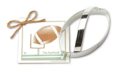 01-109 Ann Clark, Football Cookie Cutter, Made in the USA