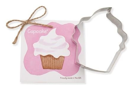 01-187 Ann Clark Cupcake Cookie Cutter Made in the USA