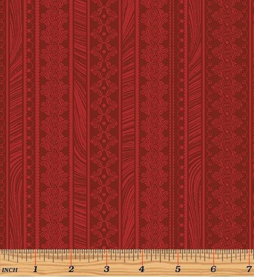 06786-10 Benartex Magnificent Blooms Red