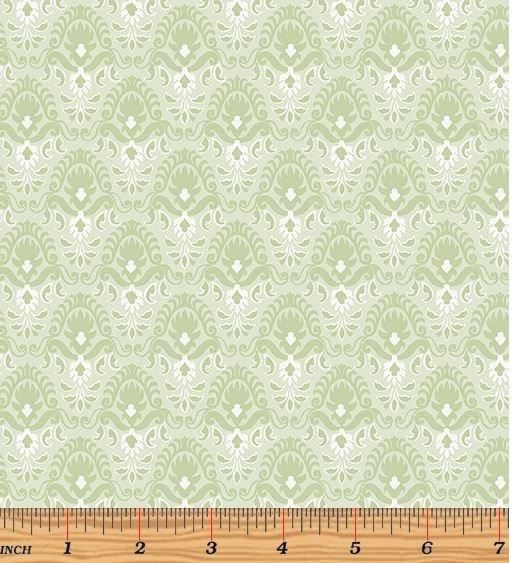 06787-04 Benartex Magnificent Blooms Light Sage