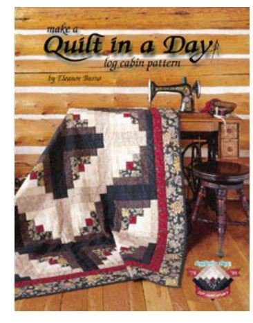 1042QD Quilt In A Day Log Cabin
