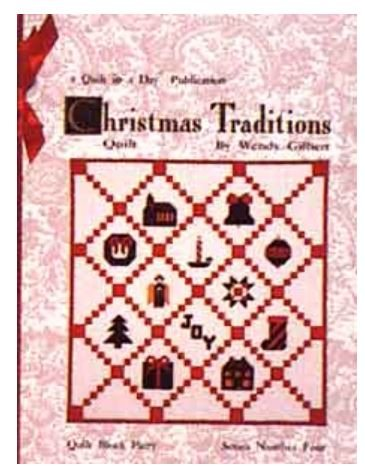 1052QD Quilt In A Day Eleanor Burns Christmas Traditions #4 Book