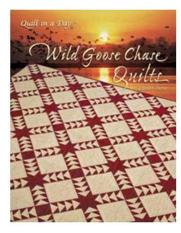 1060QD Quilt In A Day Eleanor Burns Wild Goose Chase