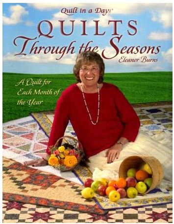 1075QD Quilt In A Day Quilts Through the Seasons Book