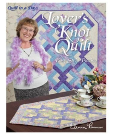 1079QD Eleanor Burns Quilt In A Day Lover's Knot Book